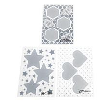 Crafter's Companion Gemini Hearts & Stars Cut and Emboss Folders