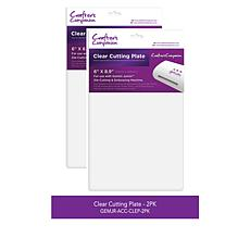 Crafter's Companion Gemini Junior Clear Cutting Plates Set of 2