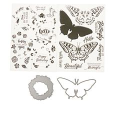 Crafter's Companion Gemini Nature Layering Stamp & Die Set Auto-Ship®