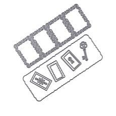 Crafter's Companion Gemini Twist and Pop Frame Rectangular Dies