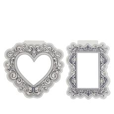 Crafter's Companion Heart and Rectangle Cut & Emboss Folders