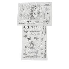 Crafter's Companion Molly Harrison Clear Stamps - Woodland Fairy