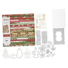 Crafter's Companion Poinsettia Perfection Collection Card-Making Kit