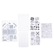Crafter's Companion Pop-Up Confetti Cube Stamps & Dies  - Auto-Ship®