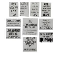 Crafter's Companion Quirky Life's Laughs Set of 10 Stamps