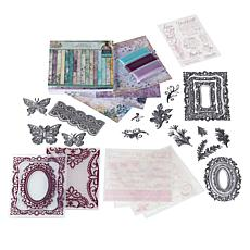 Crafter's Companion Sara Signature Vintage Lace Papercraft Bundle
