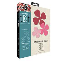 Crafter's Edge Dogwood Flower 3-piece Fabric Die Set