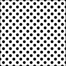Crafters Workshop Plastic Template Swiss Dot