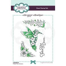 Creative Expressions Boutique Collection Follow Your Dreams A6 Stamp