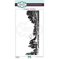 Creative Expressions Boutique The Big Day DL Pre Cut Rubber Stamp