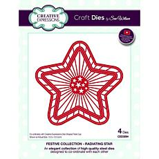 Creative Expressions Festive Collection Radiating Star