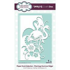 Creative Expressions Paper Cuts Edger Flamingo Summer Craft Die