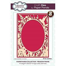 Creative Expressions Paper Panda Meadow Frame Craft Dies