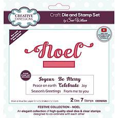 Creative Expressions Sue Wilson Noel Craft Die & Stamp Set