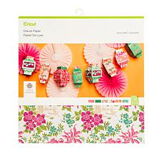 """Cricut® Anna Griffin® Deluxe Paper 12"""" x 12"""" Pack"""