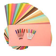Cricut® Ultimate Basics 96-piece Cardstock and 10-piece Pens Set