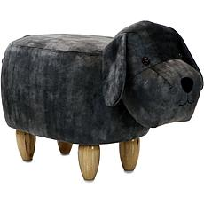 "Critter Sitters 14"" Plush Animal Ottoman - Dog"