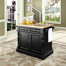 Crosley Butcher Block Top Kitchen Island