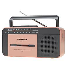 Crosley CT102A Portable Cassette Player w/Bluetooth, Radio & Recorder