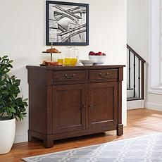 Crosley Furniture Centennial Buffet - Mahogany