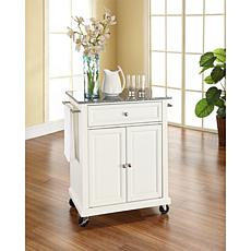 Crosley Solid Granite Top Portable Kitchen Cart