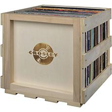 Crosley Stackable Record Storage Crate - Natural