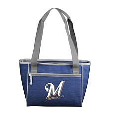 Crosshatch 16-Can Cooler Tote - Milwaukee Brewers