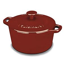 Cuisinart Chef's Classic Enameled Cast Iron 3-Quart Casserole - Red