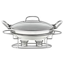 Cuisinart Classic Entertaining 3-qt. Stainless Round Buffet Server