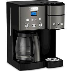 Cuisinart Coffee Center 12-Cup Coffeemaker and Single-Serve Brewer