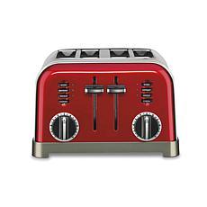 Cuisinart CPT-180MRP1 Metal Classic Toaster 4-Slice - Metallic Red