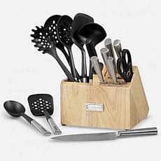 Cuisinart CTG-00-CB16 16-Piece Cutlery and Tool Block Set