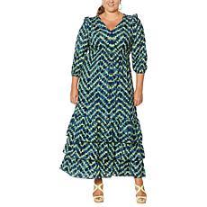Curations Batik Dress