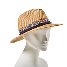 Curations Braided Panama Hat