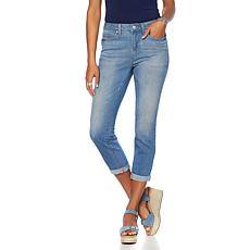Curations Free-Stretch Cropped Skinny Jean