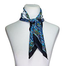 Curations Printed Square Scarf