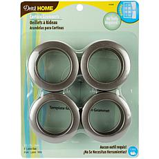 "Curtain Grommets with 1-9/16"" Inner Diameter 8 Pack"