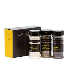 Curtis Stone 3-pack Premium Finishing Salts and Pepper Set Auto-Ship®