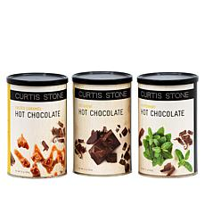 Curtis Stone 3-pack Premium Hot Chocolate 3 Flavor Set