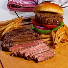 Curtis Stone Aussie 4ct Ribeye Steaks & 8ct Burgers
