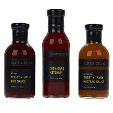 Curtis Stone BBQ Sauces & Seasoning 3-piece Collection Auto-Ship®