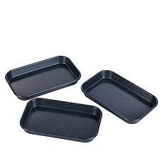 Curtis Stone Dura-Bake Set of 3 Micro Sheet Pans
