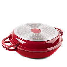 Curtis Stone Dura-Pan Nonstick 4-Quart Multi-Function Pan w/Grill Lid