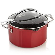 Curtis Stone Dura-Pan Nonstick 6qt Straining Stock Pot