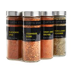 Curtis Stone Secret Weapon 4-pack 4 oz. Jar Spice Set