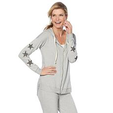 Daisy Fuentes French Terry Zip-Up Jacket