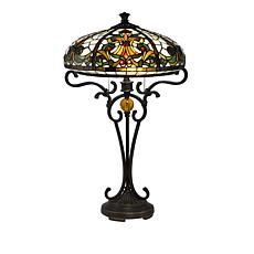 Tiffany style lamps hsn dale tiffany boehme tiffany style table lamp aloadofball Image collections