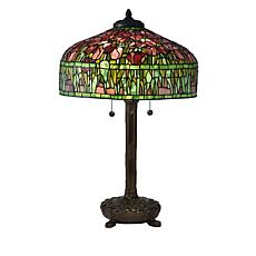 Dale Tiffany Tulip Tiffany Style Table Lamp