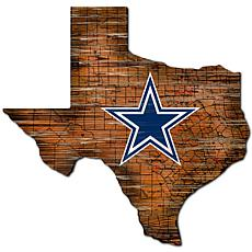 Dallas Cowboys Distressed State with Logo