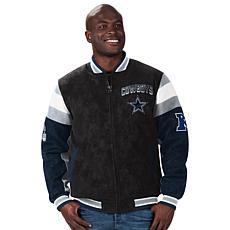 Dallas Cowboys Men's Faux Suede Jacket